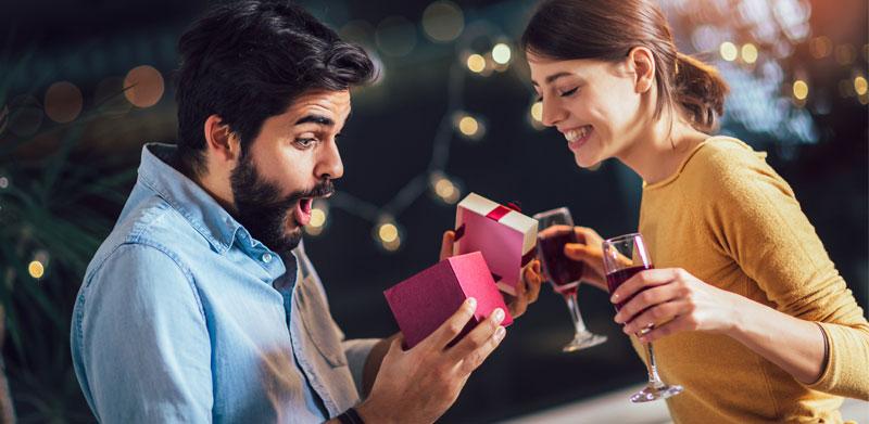 Cadeaux personnalisés pour hommes